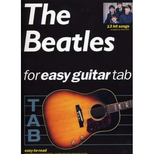 WISE PUBLICATIONS BEATLES - EASY GUITAR - 13 HIT SONGS - GUITAR TAB