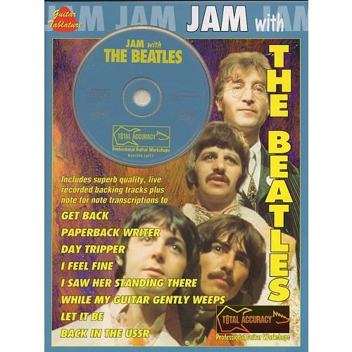 NORTHERN SONGS THE BEATLES - JAM WITH THE BEATLES - BOOK 1 - GUITAR TAB