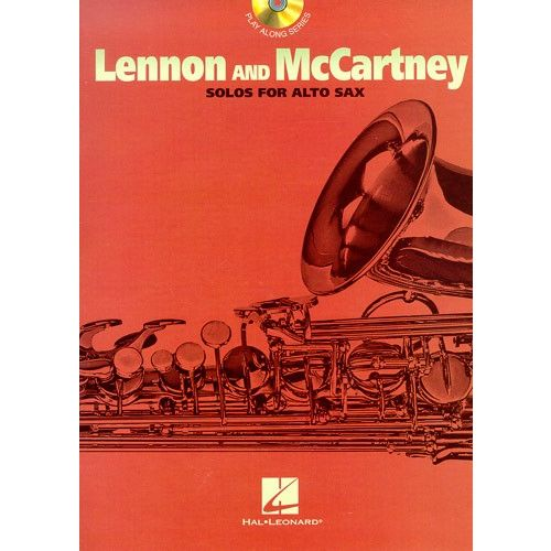HAL LEONARD LENNON AND MCCARTNEY SOLOS - FOR + CD - ALTO SAXOPHONE