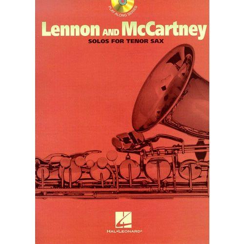 HAL LEONARD LENNON AND MCCARTNEY - SOLOS - TENOR SAXOPHONE