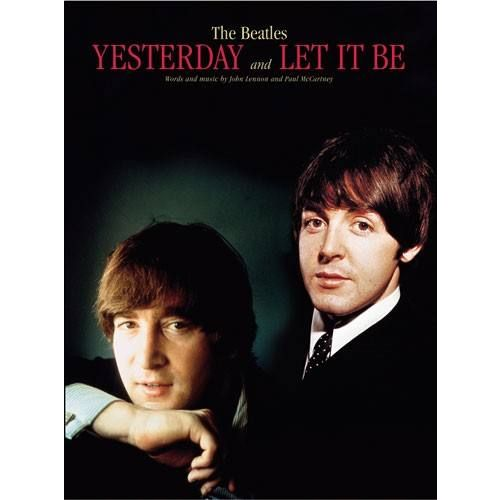 MUSIC SALES BEATLES - FORMAT YESTERDAY/LET IT BE - PVG
