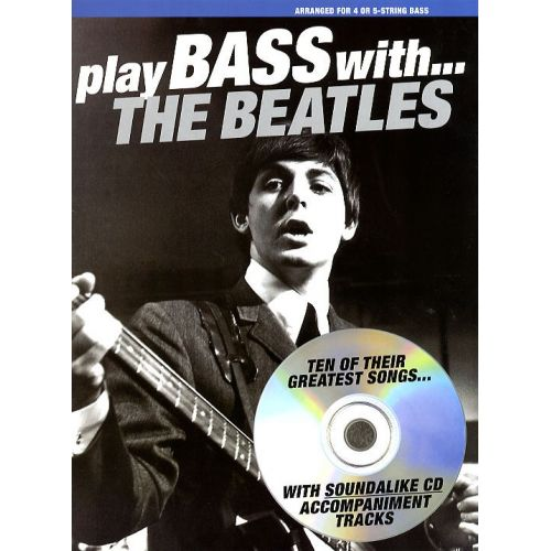 NORTHERN SONGS PLAY BASS WITH THE BEATLES - BASS GUITAR