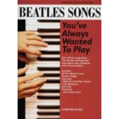 NORTHERN SONGS BEATLES SONGS YOU'VE ALWAYS WANTED TO PLAY - PIANO SOLO