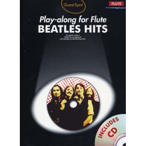 WISE PUBLICATIONS BEATLES - GUEST SPOT BEATLES HITS + CD - FLUTE