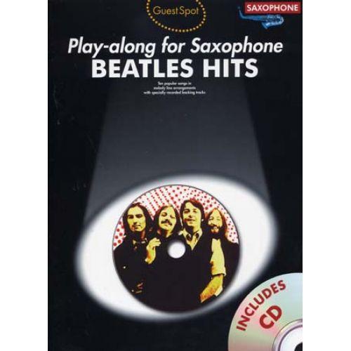 WISE PUBLICATIONS BEATLES - GUEST SPOT BEATLES HITS + CD - SAXOPHONE