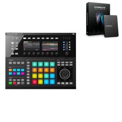 NATIVE INSTRUMENTS KOMPLETE 11 ULTIMATE UPGRADE K SELECT + MASCHINE STUDIO (BLACK)