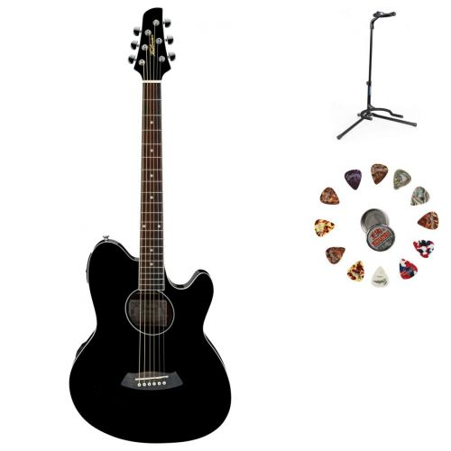 IBANEZ TALMAN TCY10EBK BLACK + ACCESSORIES
