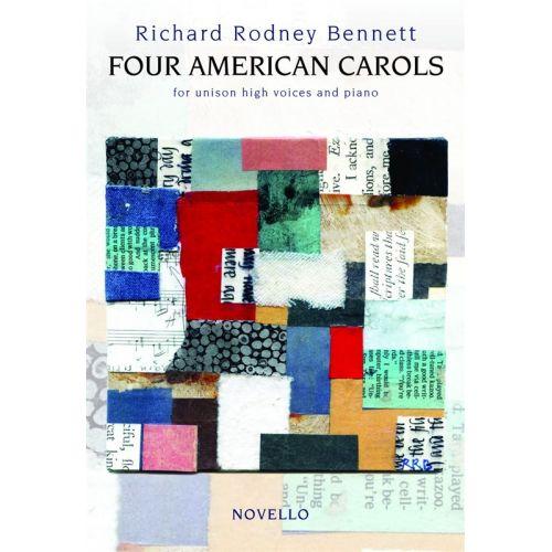 NOVELLO RICHARD RODNEY BENNETT FOUR AMERICAN CAR - UNISON VOICE