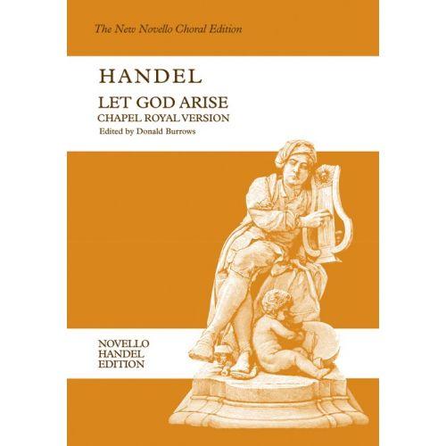 NOVELLO HANDEL G.F. - LET GOD ARISE - CHOIR