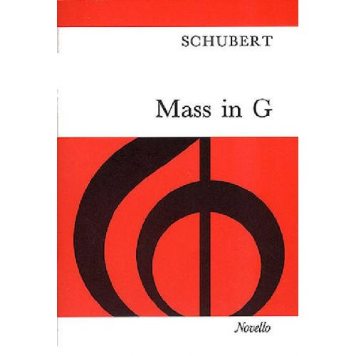 NOVELLO SCHUBERT FRANZ - MASS IN G - SATB