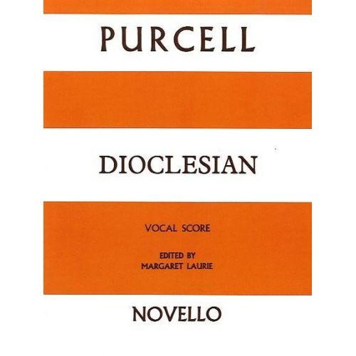 NOVELLO PURCELL HENRY - DIOCLESIAN - VOCAL SCORE