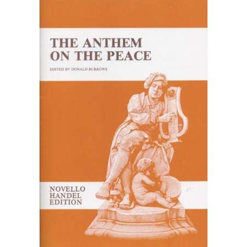 NOVELLO HAENDEL G.F. - ANTHEM ON THE PEACE - VOCAL SCORE