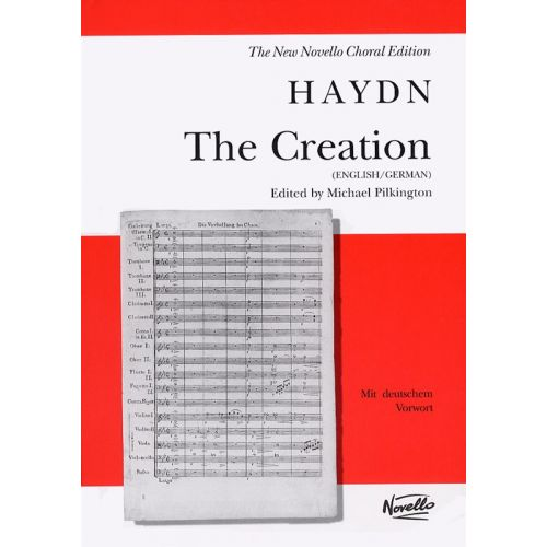 NOVELLO FRANZ JOSEPH HAYDN - THE CREATION - VOCAL SCORE