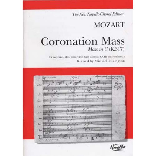 NOVELLO MOZART W.A. - CORONATION MASS IN C (K.317) - VOCAL SCORE