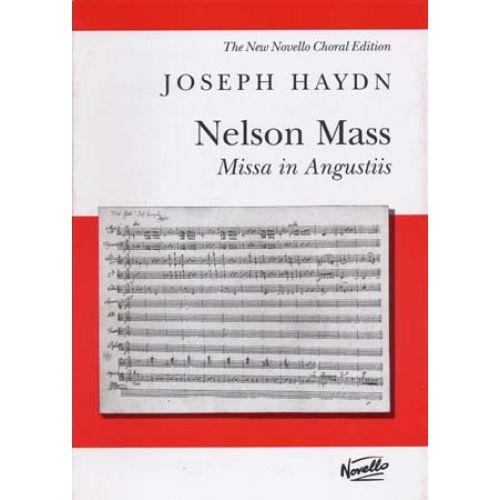 NOVELLO HAYDN - NELSON MASS (MISSA IN ANGUSTIIS) - VOCAL SCORE