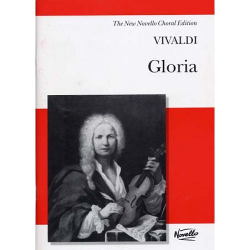 NOVELLO VIVALDI A. - GLORIA RV 589 - VOCAL SCORE