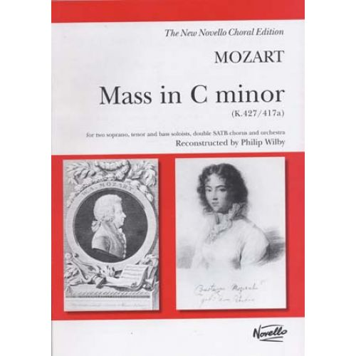 NOVELLO MOZART W.A. - MASS IN C MINOR (K.427 / 417A) - VOCAL SCORE