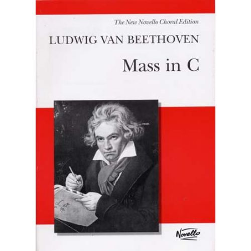 NOVELLO BEETHOVEN L.VAN - MASS IN C - VOCAL SCORE