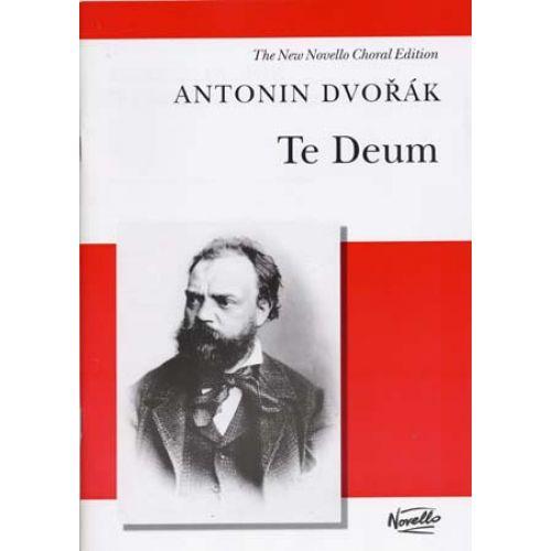 NOVELLO DVORAK A. - TE DEUM - VOCAL SCORE