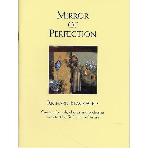 NOVELLO BLACKFORD RICHARD - MIRROR OF PERFECTION - VOCAL SCORE