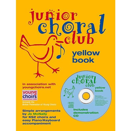 NOVELLO JUNIOR CHORAL CLUB - BK. 5 - YELLOW - VOICE AND PIANO