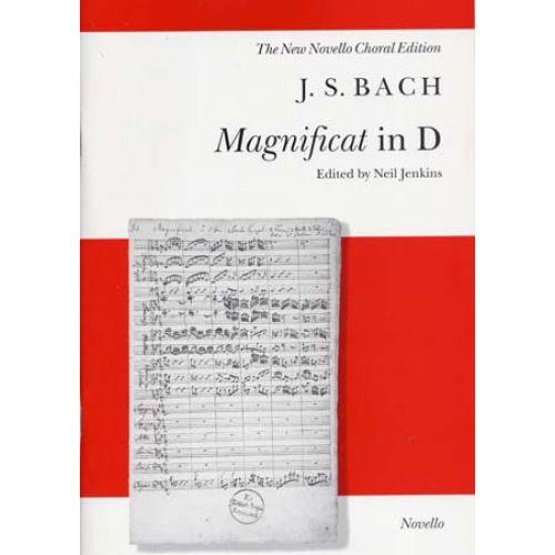 NOVELLO BACH J.S. - MAGNIFICAT IN D - VOCAL SCORE
