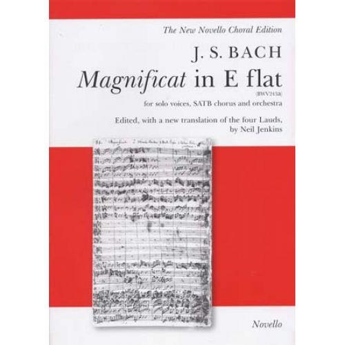 NOVELLO BACH J.S. - MAGNIFICAT IN E FLAT (BWV243A) - VOCAL SCORE