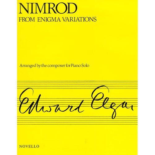 NOVELLO ELGAR EDWARD - NIMROD FROM ENIGMA VARIATIONS OP.36 - PIANO SOLO