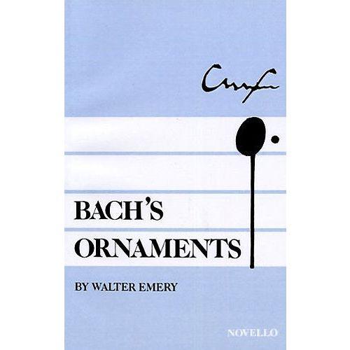 NOVELLO EMERY W. - BACH'S ORNAMENTS - POP