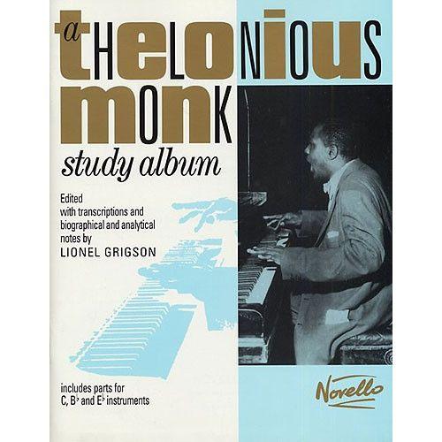 NOVELLO MONK THELONIOUS - A THELONIOUS MONK STUDY ALBUM - ALL INSTRUMENTS