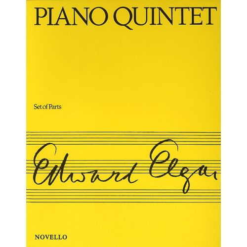 NOVELLO PIANO QUINTET - OP 84 - PIANO CHAMBER