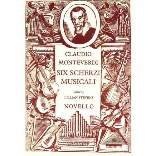 NOVELLO VOCAL SHEETS - MONTEVERDI SIX SCHERZI MUSICALI