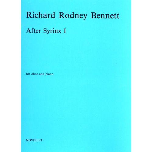 NOVELLO RICHARD RODNEY BENNETT - SYRINX I FOR OBOE AND PIANO - OBOE