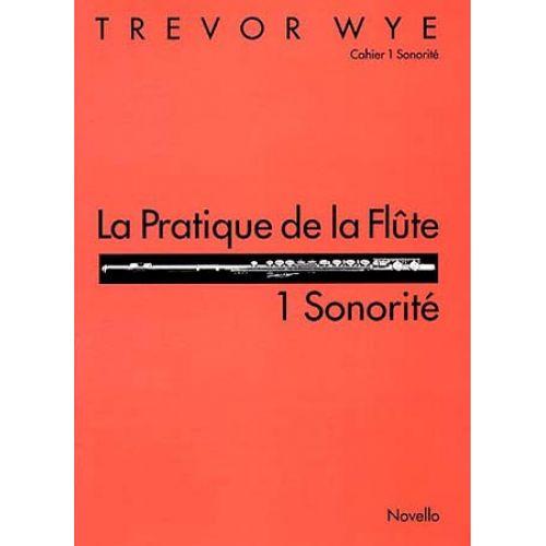 NOVELLO WYE TREVOR - PRATIQUE DE LA FLUTE VOL.1 : SONORITE