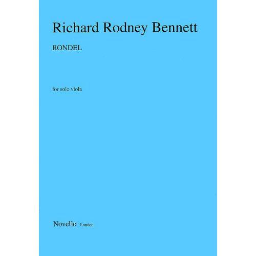 NOVELLO BENNETT RICHARD RODNEY - RONDEL FOR SOLO VIOLA - VIOLA
