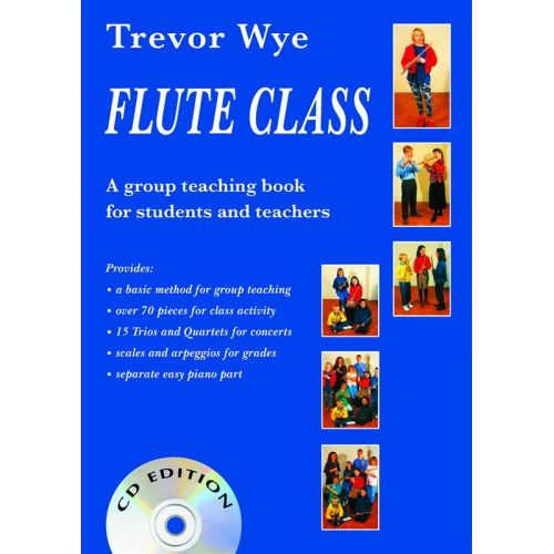 NOVELLO WYE TREVOR - FLUTE CLASS [WITH 2 CDS] - FLUTE