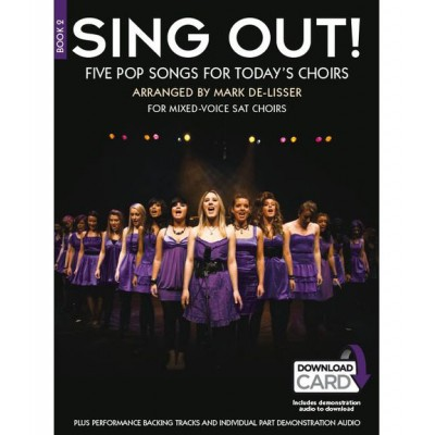 NOVELLO SING OUT! 5 POP SONGS FOR TODAY'S CHOIRS + 2 CD BOOK 2 - CHANT, PIANO