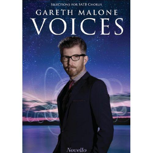 NOVELLO GARETH MALONE - GARETH MALONE VOICES SATB CHORAL - SATB