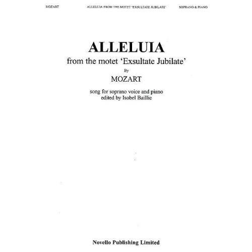 NOVELLO MOZART W.A. - ALLELUIA