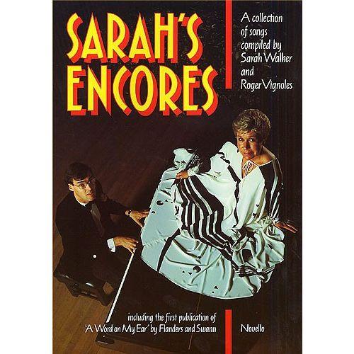 NOVELLO SARAH'S ENCORES - VOICE