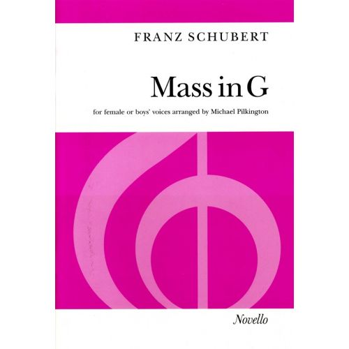 NOVELLO MASS IN G - FOR FEMALE OR BOYS' VOICES - SSAA