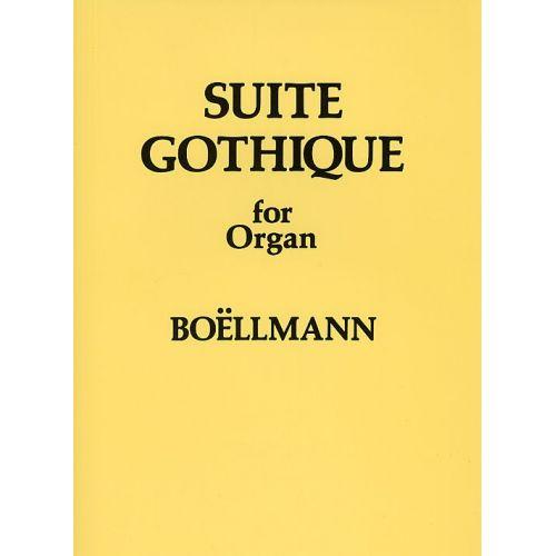 NOVELLO LEON BOELLMANN SUITE GOTHIQUE FOR ORGAN OP.25 - ORGAN