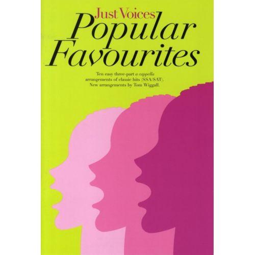 NOVELLO JUST VOICES - POPULAR FAVOURITES