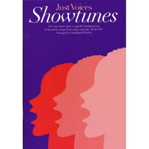 NOVELLO JUST VOICES SHOWTUNES (SSA/SAT)