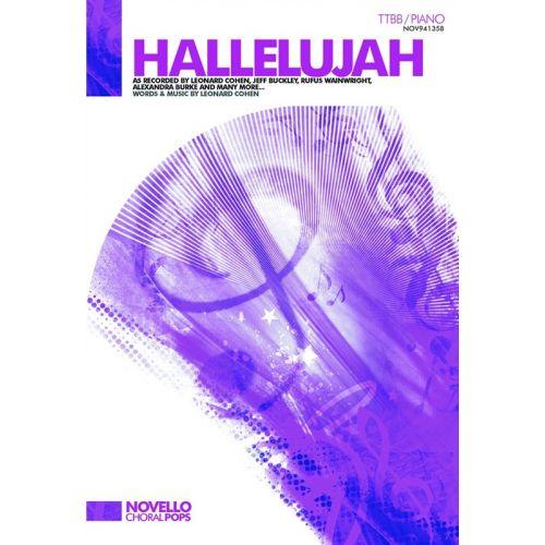 NOVELLO HALLELUJAH - TTBB AND PIANO