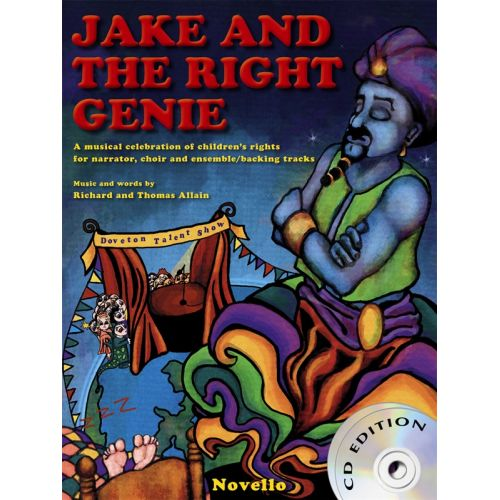 NOVELLO JAKE AND THE RIGHT GENIE - CHORAL