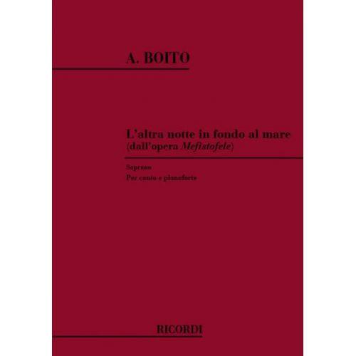 RICORDI BOITO A. - ALTRA NOTTE IN FONDO AL MARE