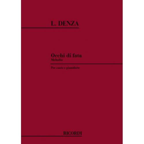 RICORDI DENZA L. - OCCHI DI FATA - CHANT ET PIANO