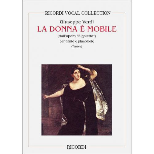 RICORDI VERDI G. - RIGOLETTO: LA DONNA E' MOBILE - CHANT ET PIANO