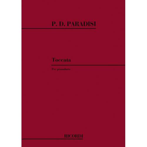 RICORDI PARADISI P.D. - TOCCATA - PIANO